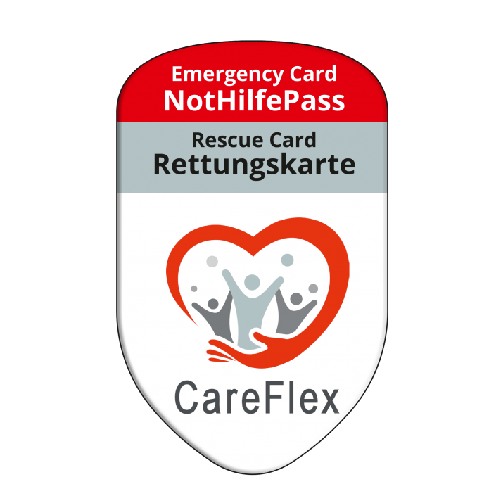 Werbung Referenzen Unternehmen CAREFLEX – SAFETYBAG® –Die Rettungskarten-Halterung Hülle Tasche für jedes Auto –für Fuhrpark Mitarbeiter nachhaltiges Werbegeschenk Give-away